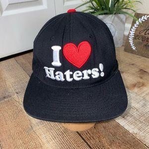 I heart (love) haters snap back Kayo